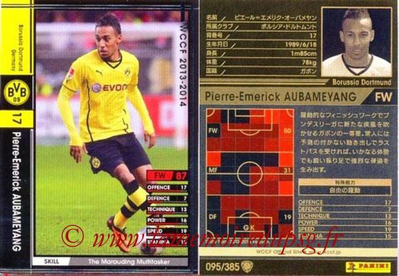 2013-14 - WCCF - N° 095 - Pierre-Emerick AUBANYANG (Borussia Dortmund)