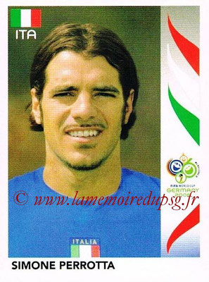 2006 - Panini FIFA World Cup Germany Stickers - N° 334 - Simone PERROTTA (Italie)