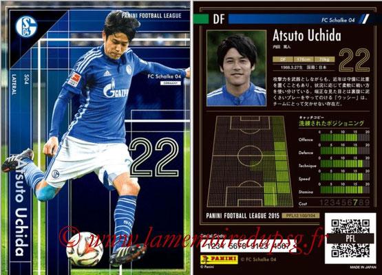 Panini Football League 2015 - PFL12 - N° 100 - Atsuto UCHIDA (FC Schalke 04) (Lateral)