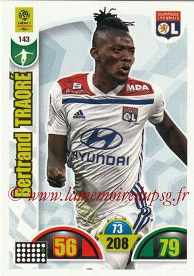 2018-19 - Panini Adrenalyn XL Ligue 1 - N° 143 - Bertrand TRAORE (Lyon)