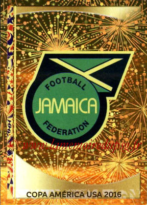 Panini Copa America Centenario USA 2016 Stickers - N° 254 - Logo Jamaïque