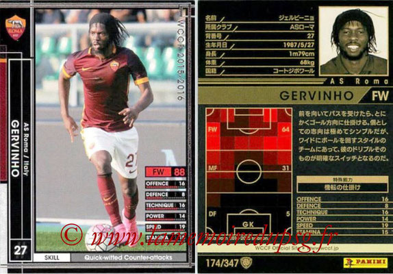 2015-16 - Panini WCCF - N° 174 - GERVINHO (AS Roma)