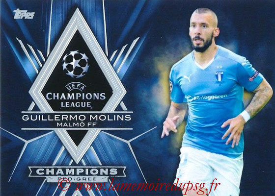 2015-16 - Topps UEFA Champions League Showcase Soccer - N° CP-GM - Guillermo MOLINS (Malmö FF) (Champions Pedigree)