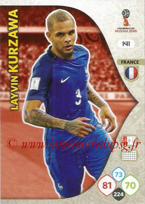 2018 - Panini FIFA World Cup Russia Adrenalyn XL - N° 141 - Layvin KURZAWA (France)