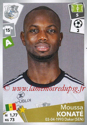 2017-18 - Panini Ligue 1 Stickers - N° 016 - Moussa KONATE (Amiens)