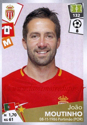2017-18 - Panini Ligue 1 Stickers - N° 273 - Joao MOUTINHO (Monaco)