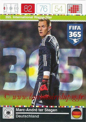 2015-16 - Panini Adrenalyn XL FIFA 365 - N° 355 - Marc-André TER STEGEN (Allemagne) (International Rising Star)