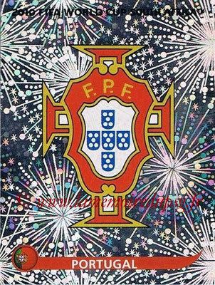 2010 - Panini FIFA World Cup South Africa Stickers - N° 544 - Logo Portugal