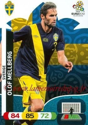 Panini Euro 2012 Cards Adrenalyn XL - N° 206 - Olof MELLBERG (Suède)