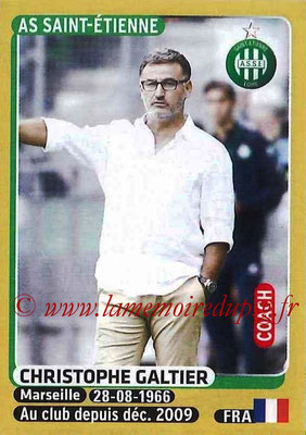 2015-16 - Panini Ligue 1 Stickers - N° 414 - Christophe GALTIER (AS Saint-Etienne) (Coach)