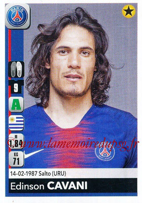 2018-19 - Panini Ligue 1 Stickers - N° 367 - Edinson CAVANI (Paris Saint-Germain)