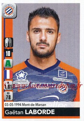 2018-19 - Panini Ligue 1 Stickers - N° 270 - Gaëtan LABORDE (Montpellier)