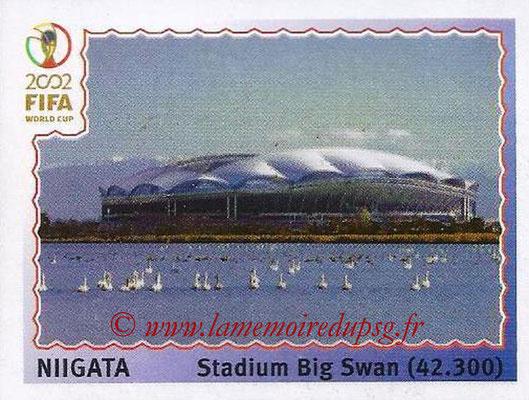 2002 - Panini FIFA World Cup Stickers - N° 019 - Stade Niigata (Stadium Big Swan)