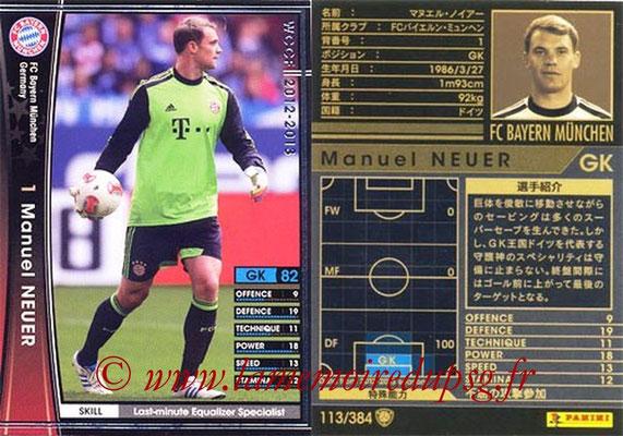 2012-13 - WCCF - N° 113 - Manuel NEUER (FC Bayern Munich)