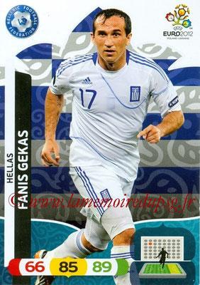 Panini Euro 2012 Cards Adrenalyn XL - N° 102 - Fanis GEKAS (Grèce)