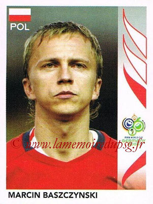 2006 - Panini FIFA World Cup Germany Stickers - N° 059 - Marcin BASZCZYNSKI (Pologne)