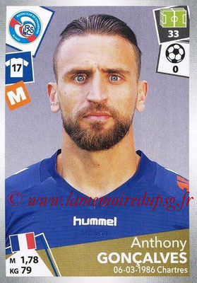 2017-18 - Panini Ligue 1 Stickers - N° 452 - Anthony GONCALVES (Strasbourg)