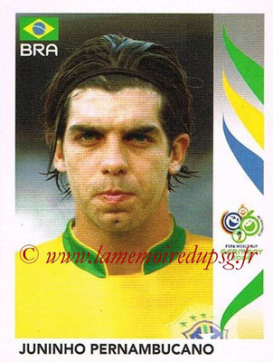 2006 - Panini FIFA World Cup Germany Stickers - N° 389 - Juninho PERNAMBUCANO (Brésil)