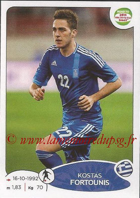 2014 - Panini Road to FIFA World Cup Brazil Stickers - N° 277 - Kostas FORTOUNIS (Grèce)