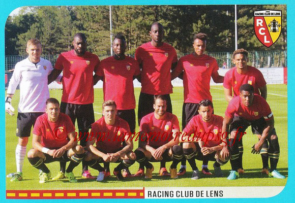 2016-17 - Panini Ligue 1 Stickers - N° 880 - Equipe Lens