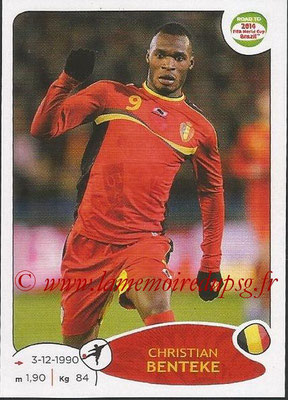 2014 - Panini Road to FIFA World Cup Brazil Stickers - N° 267 - Christian BENTEKE (Belgique)