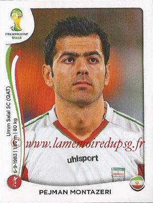 2014 - Panini FIFA World Cup Brazil Stickers - N° 456 - Pejman MONTAZERI (Iran)