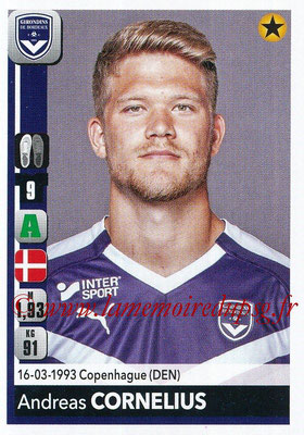 2018-19 - Panini Ligue 1 Stickers - N° 067 - Andreas CORNELIUS (Bordeaux)