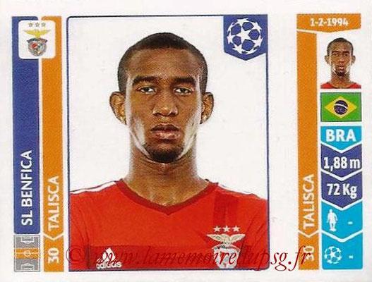 2014-15 - Panini Champions League N° 196 -TALISCA (SL Benfica)