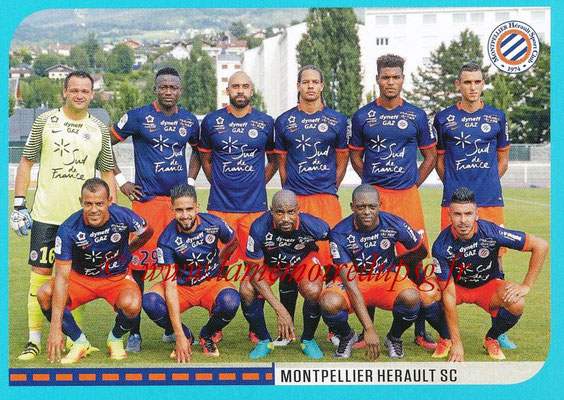 2016-17 - Panini Ligue 1 Stickers - N° 508 - Equipe Montpellier