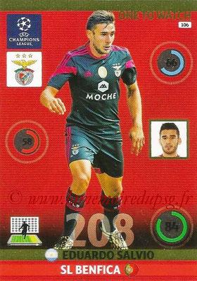 2014-15 - Adrenalyn XL champions League N° 106 - Eduardo SALVIO (SL Benfica) (One to watch)