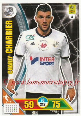 2017-18 - Panini Adrenalyn XL Ligue 1 - N° 008 - Charly CHARRIER (Amiens)