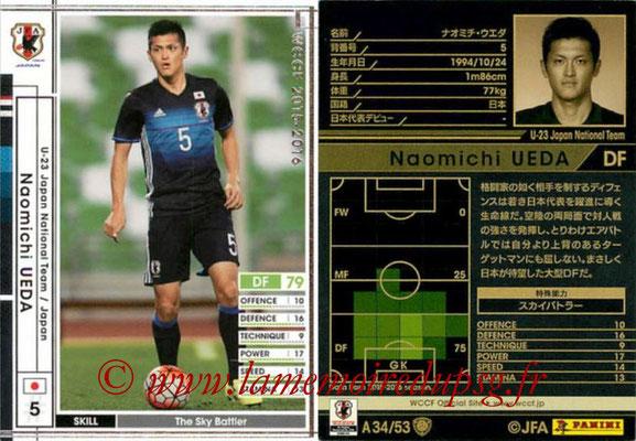 2015-16 - Panini WCCF - N° A34 - Naomichi UEDA (Japon)