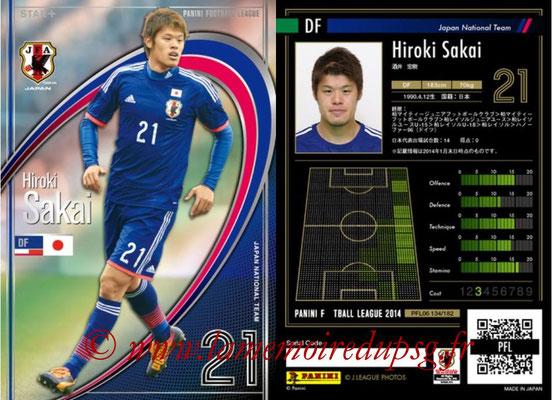 Panini Football League 2014 - PFL06 - N° 134 - Hiroki SAKAI (Japon) (Star +)