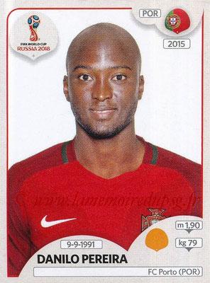 2018 - Panini FIFA World Cup Russia Stickers - N° 123 - Danilo PEREIRA (Portugal)