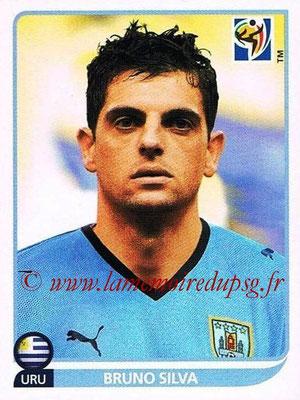 2010 - Panini FIFA World Cup South Africa Stickers - N° 076 - Bruno SILVA (Uruguay)