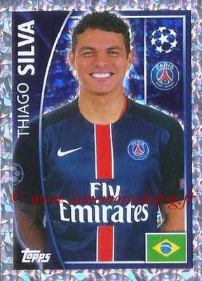 2015-16 - Topps UEFA Champions League Stickers - N° 019 - Thiago SILVA (Paris Saint-Germain)