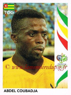 2006 - Panini FIFA World Cup Germany Stickers - N° 523 - Abdel COUBADJA (Togo)