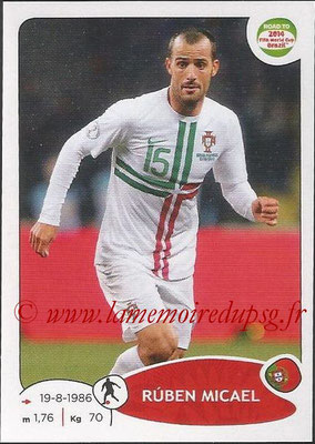 2014 - Panini Road to FIFA World Cup Brazil Stickers - N° 319 - Ruben MICAEL (Portugal)
