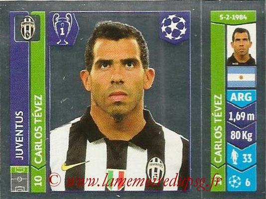 2014-15 - Panini Champions League N° 064 - Carlos TEVEZ (Juventus Turin)