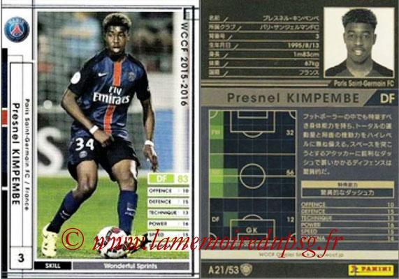 N° A21 - Presnel KIMPEMBE