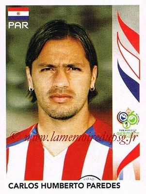 2006 - Panini FIFA World Cup Germany Stickers - N° 125 - Carlos Humberto PAREDES (Paraguay)