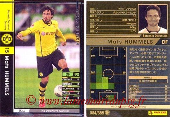 2013-14 - WCCF - N° 084 - Mats HUMMELS (Borussia Dortmund)