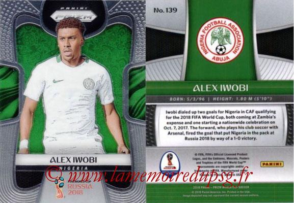 2018 - Panini Prizm FIFA World Cup Russia - N° 139 - Alex IWOBI (Nigeria)