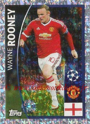 2015-16 - Topps UEFA Champions League Stickers - N° 082 - Wayne ROONEY (Manchester United FC)