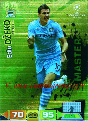 2011-12 - Panini Champions League Cards - N° 340 - Edin DZEKO (Manchester City FC) (Master)