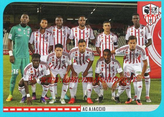 2016-17 - Panini Ligue 1 Stickers - N° 844 - Equipe AC Ajaccio