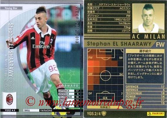2012-13 - WCCF - N° YGS2 - Stephan EL SHAARAWY (Milan AC) (Young Star)