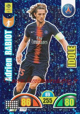2018-19 - Panini Adrenalyn XL Ligue 1 - N° 386 - Adrien RABIOT (Paris Saint-Germain) (Idole)