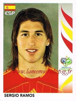 2006 - Panini FIFA World Cup Germany Stickers - N° 538 - Sergio RAMOS (Espagne)
