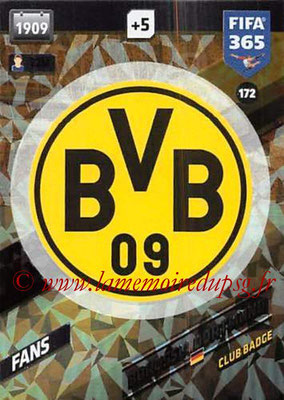 2017-18 - Panini FIFA 365 Cards - N° 172 - Logo Borussia Dortmund (Club Badge)